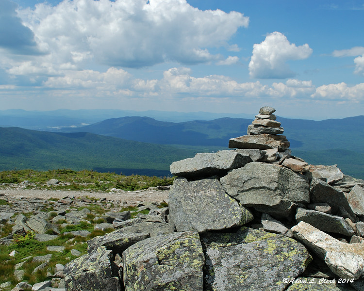 Sugarloaf Mountain summit cairn
