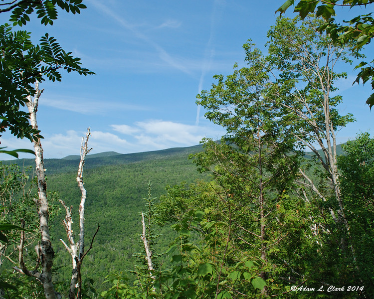 With the steep climbs in this section, some views can be had early on in the hike