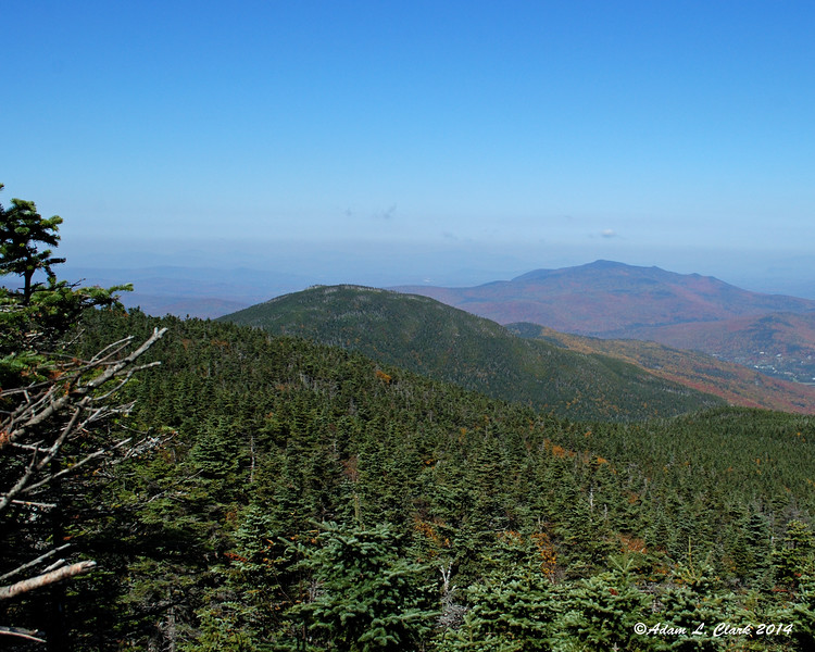 Looking back north towards Mt. Tom