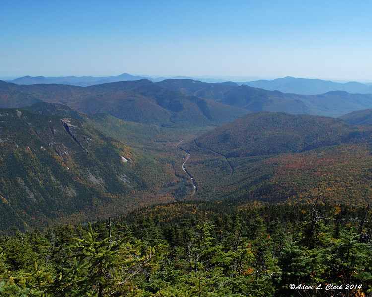Looking down at the southern end of Crawford Notch