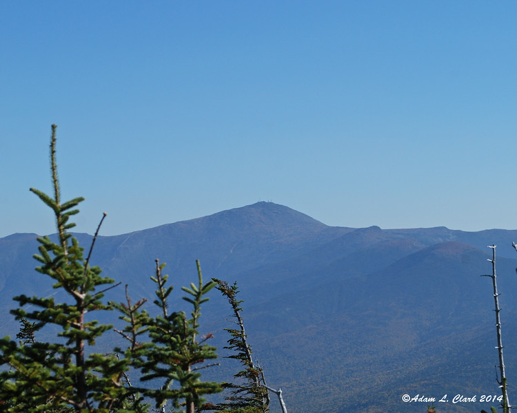 Mt. Washington to the northeast