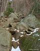 Plenty of rocks to climb up