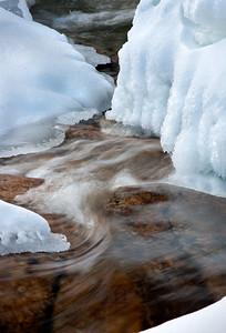 Swift River Winter Scene, Conway, NH (9587)