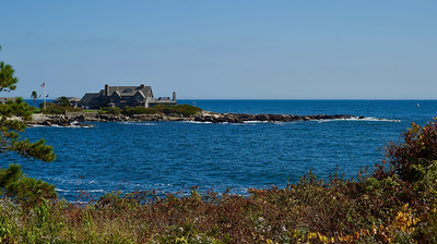 Bush Compound in Kennebunkport, Maine