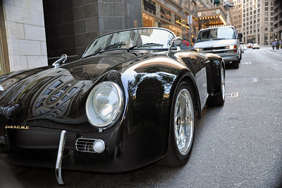 We spotted this Porsche walking by the Old City Hall in Boston, Ma.
