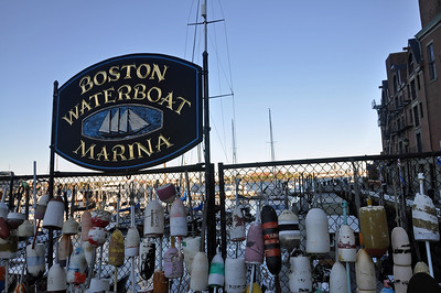 at Boston Waterfront Marina