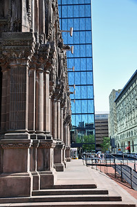 Profile of Trinity Church in Boston, Ma