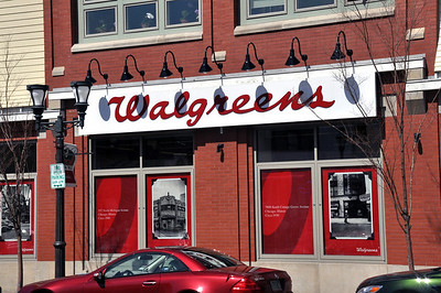 Silly but I liked this Walgreens building.