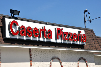 We ate at Casserta Pizzeria on the back side of Federal Hill.  They only serve pizza with a few toppings (cheese, pepperoni, sausage) and grilled italian sausage in bread.  I think limiting the selection has allowed them to make some great tasting food!