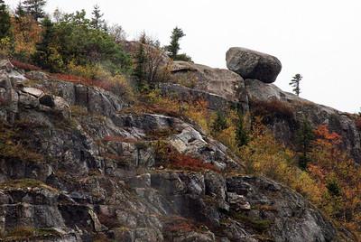 Glacial rock deposit