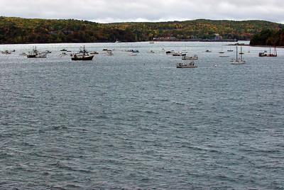 Harbor in Bar Harbor, Maine