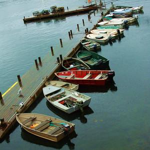 Row boats, Bar Harbor, Maine