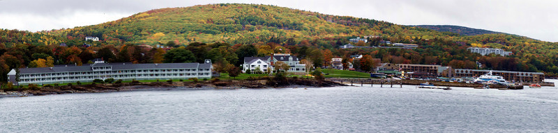 Color could be seen everywhere in Bar Harbor