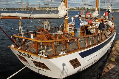 The Mar, sailing ship docked in Halifax, NS