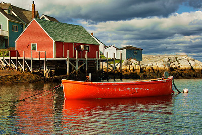 Scene from Peggy's Cove
