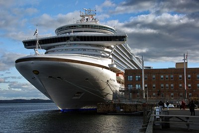 Caribbean Princess in Halifax, NS