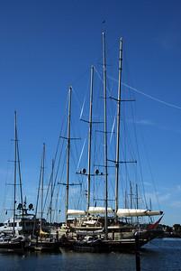 Tall ship in Newport
