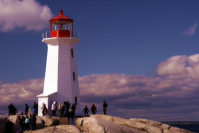 Peggy's Cove near Halifax, Nova Scotia, Canada