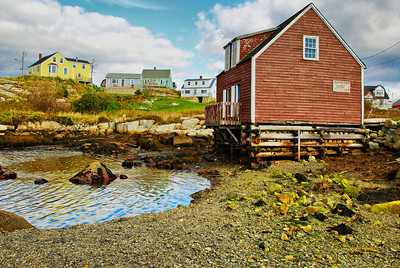 Homes in Peggy's Cove