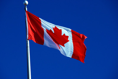Oh Canada!  A truly beautiful national flag