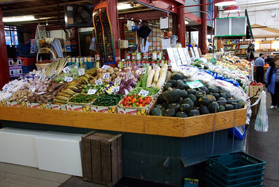 More vegetables in Central Market
