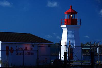 Lighthouse in Saint John Harbor