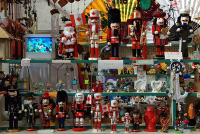 Nutcrackers in Central Market
