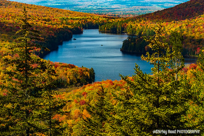 Kettle Pond Vermont foliage
