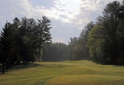 Golfing in New Hampshire, USA