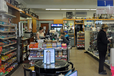 This was one of the best surprises in Bar Harbor.  It is an old time drug store with a soda fountain.  They also served soup and sandwiches.  Best of all, they sold there coffee for 20 cents to keep the old time feel!