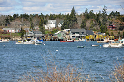Bass Harbor - love the colors.