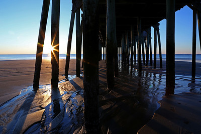 Sunshine through the Pier
