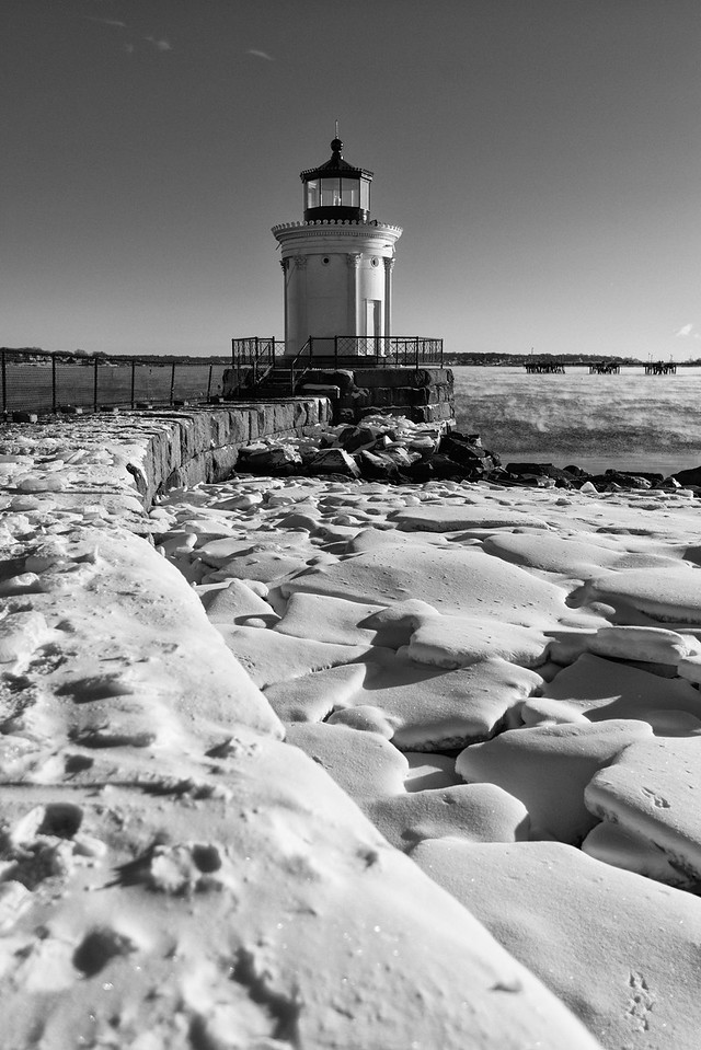 Bug Light in Winter