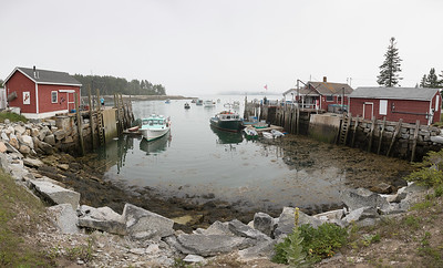 Spruce Head Island Harbor Pano_1843