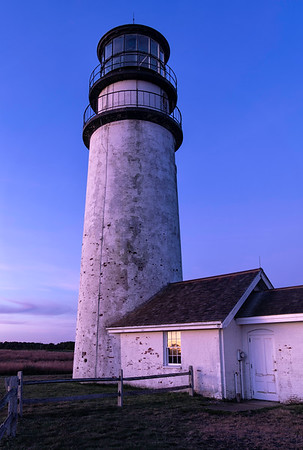 Sunrise at Highland Light in Truro, Massachusetts along the Cape Cod National Seashore