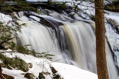 Doane's Falls, Winter Falls