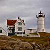 Dark Clouds Surround the Nubble Lighthouse