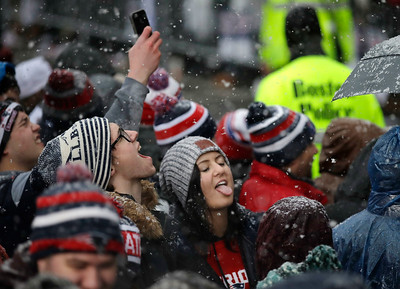 New England Patriots  Super Bowl Parade