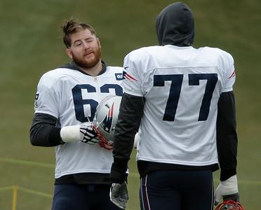 New England Patriots practice 1/11