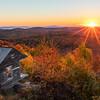Sunrise over Hogback Mountain