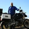 Me and my rented BMW GS1200 in Quebec