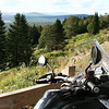 Looking over the GS1200 toward Canada