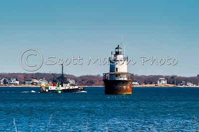 Butler Flats Lighthouse, New Bedford, Ma
