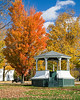 Hancock Bandstand in Fall  -  9994