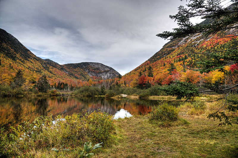 Fall in the White Mountains of NH