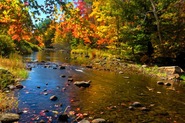 Piscataquog River, New Boston, NH