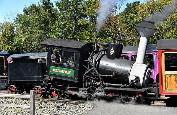 Waumbeck Under Steam