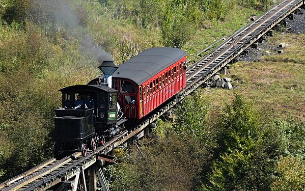 Coal Train Returning