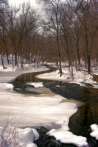 Nissittissett River in Winter