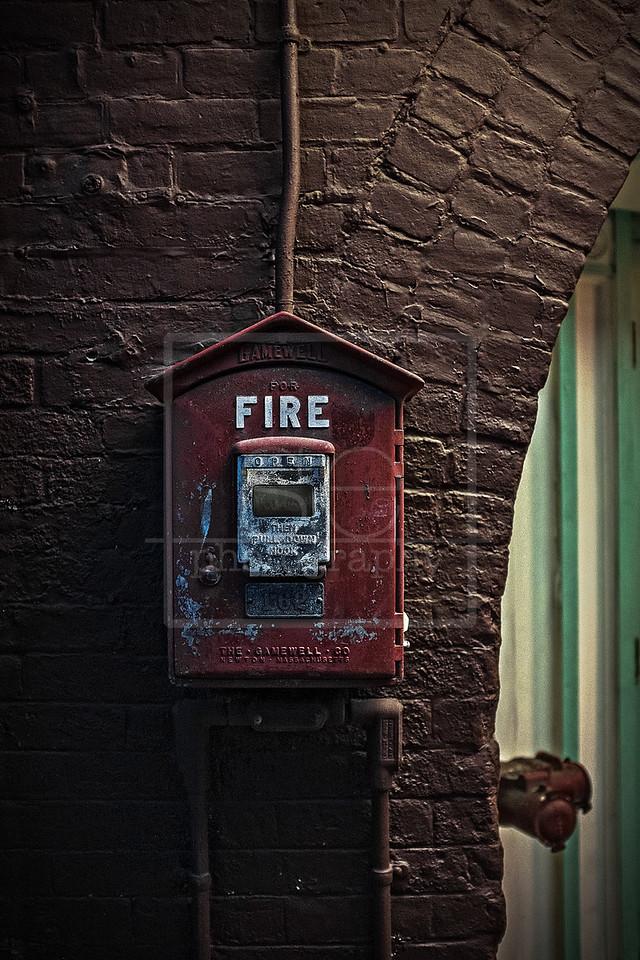 Pull In Case of Fire